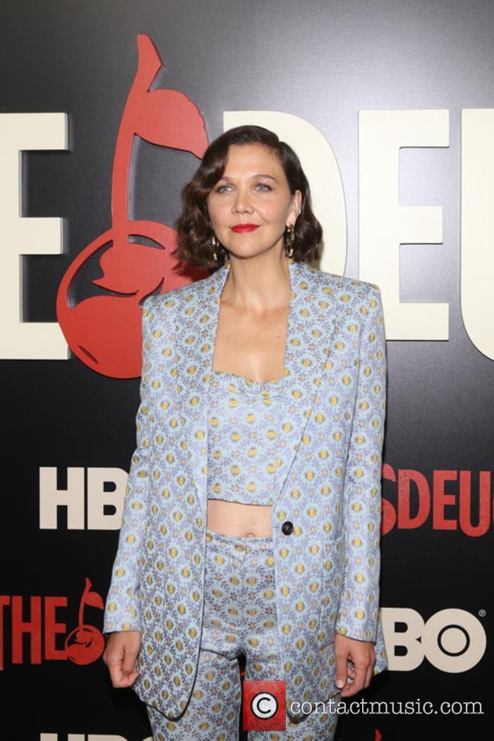 Maggie Gyllenhaal at 'The Deuce' premiere