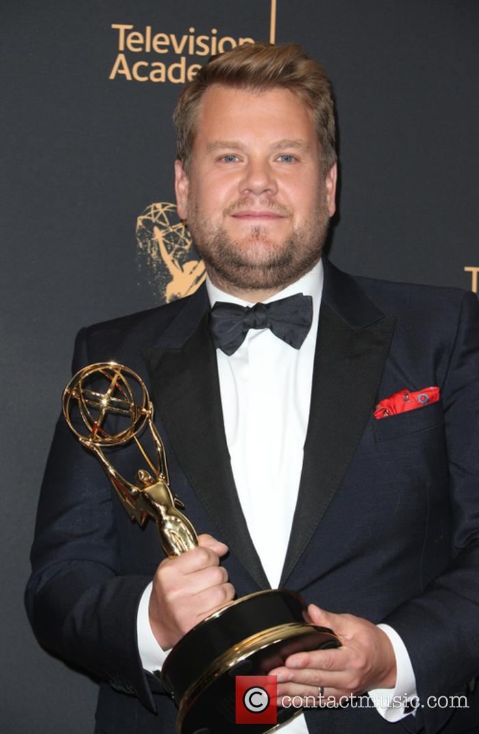 James Corden at the Emmy Awards