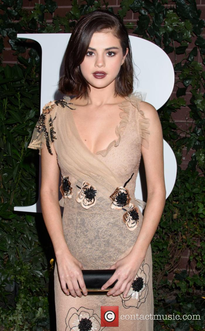 Selena Gomez at Business of Fashion event