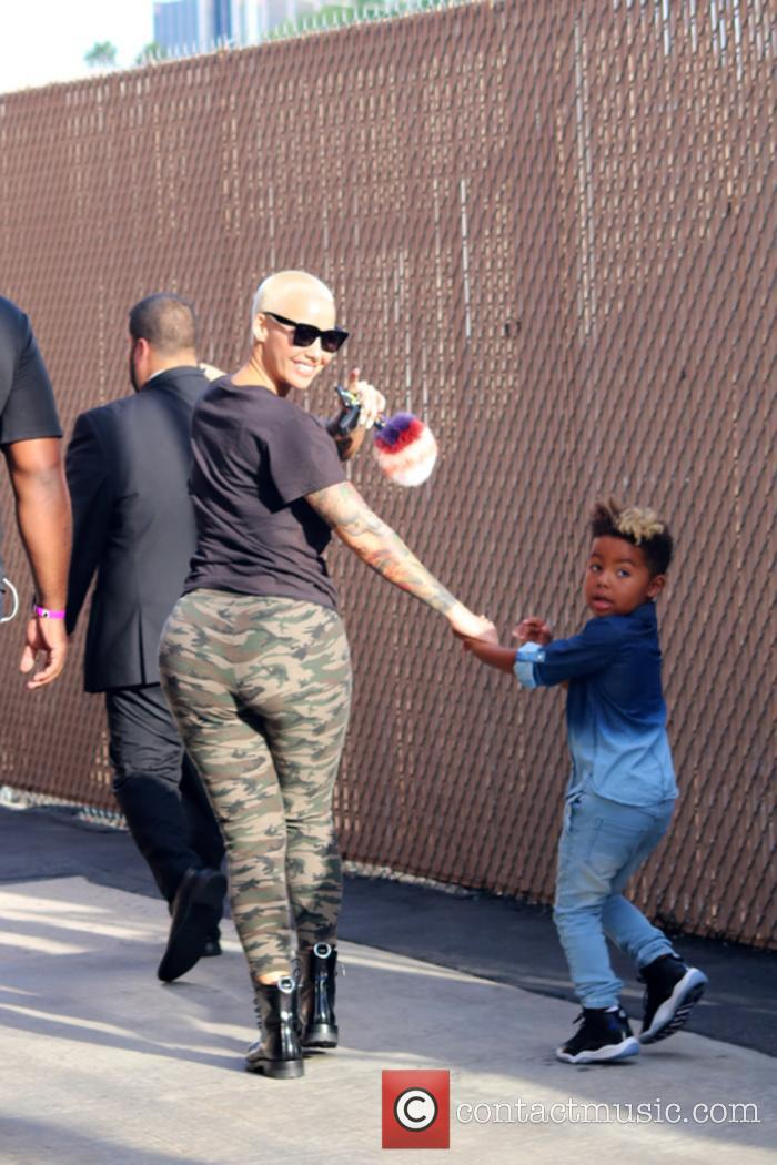 Amber Rose and Sebastian Taylor Thomaz 1