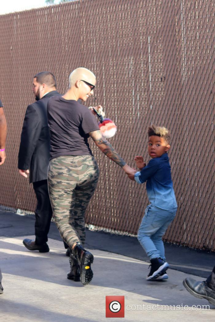 Amber Rose and Sebastian Taylor Thomaz 2
