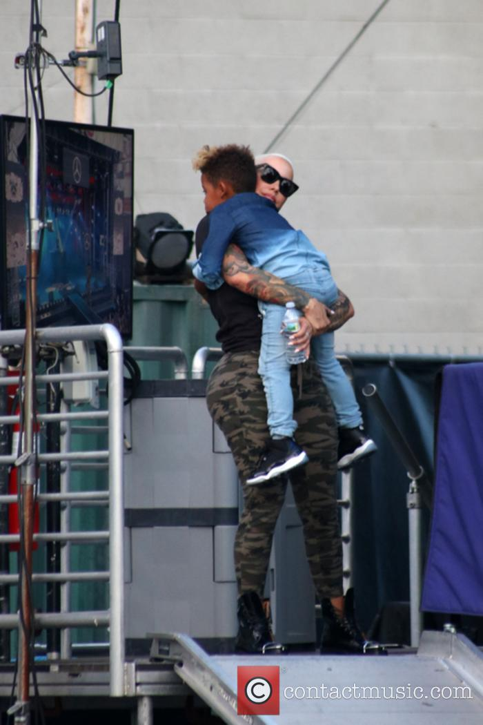 Amber Rose and Sebastian Taylor Thomaz 9