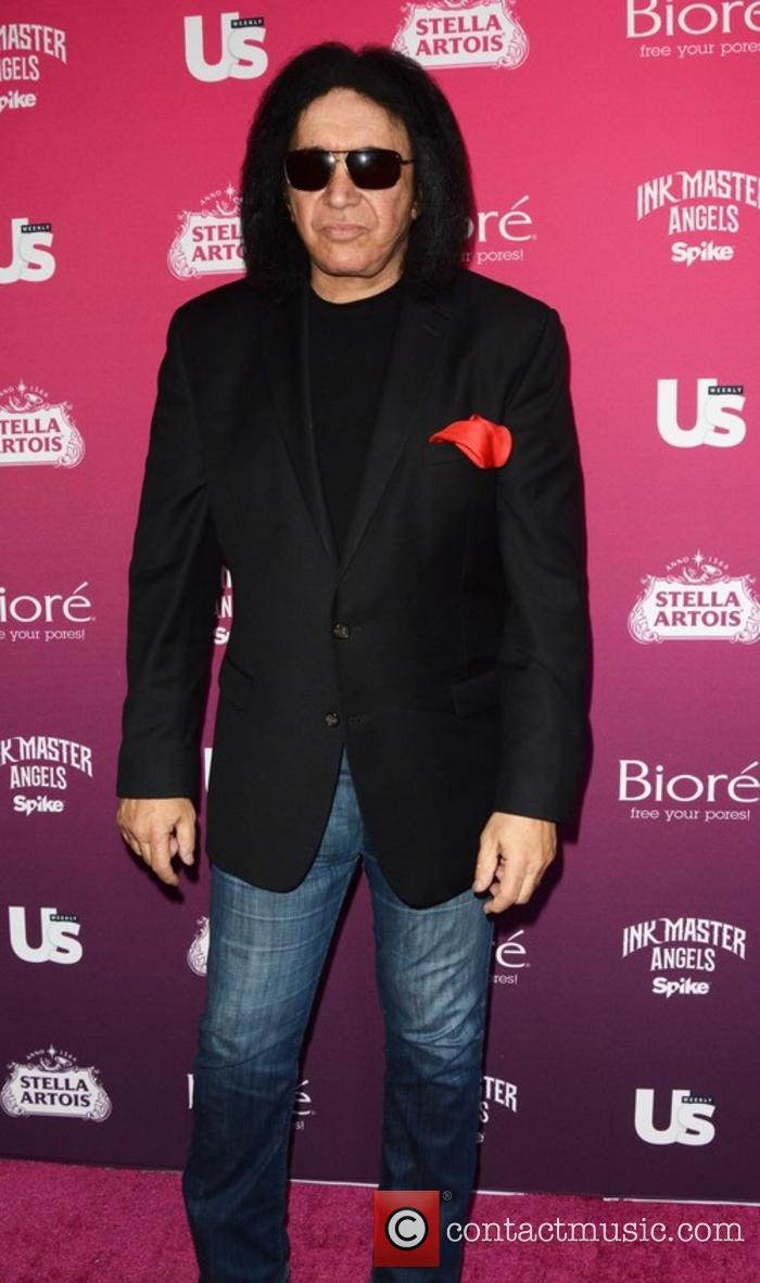 Gene Simmons at an Us Magazine event
