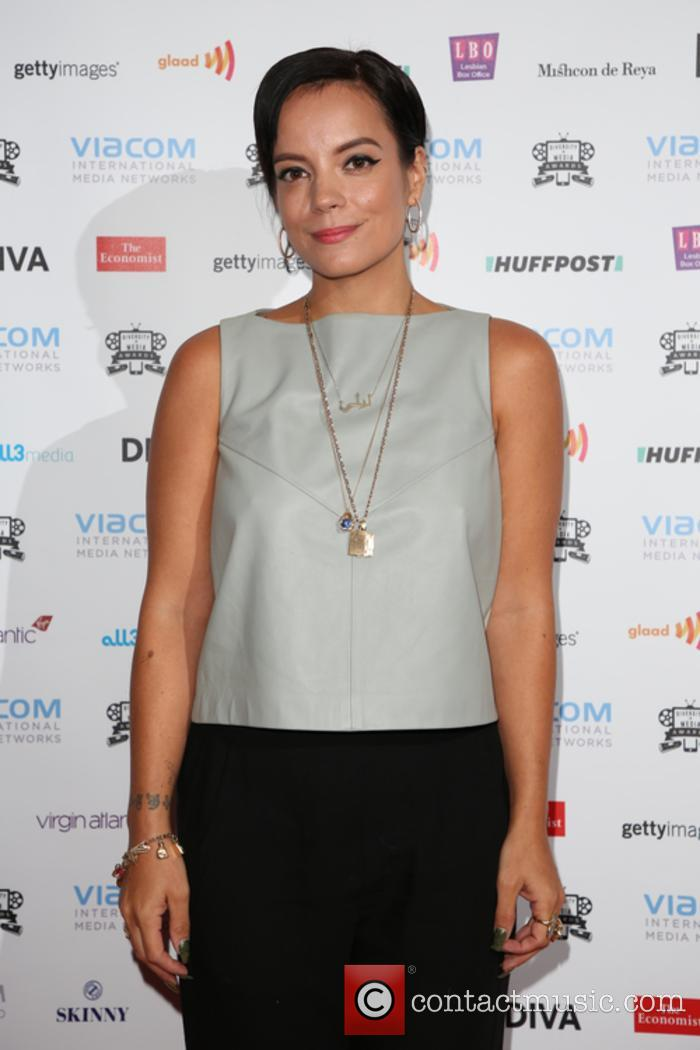 Lily Allen at the Diversity in Media Awards
