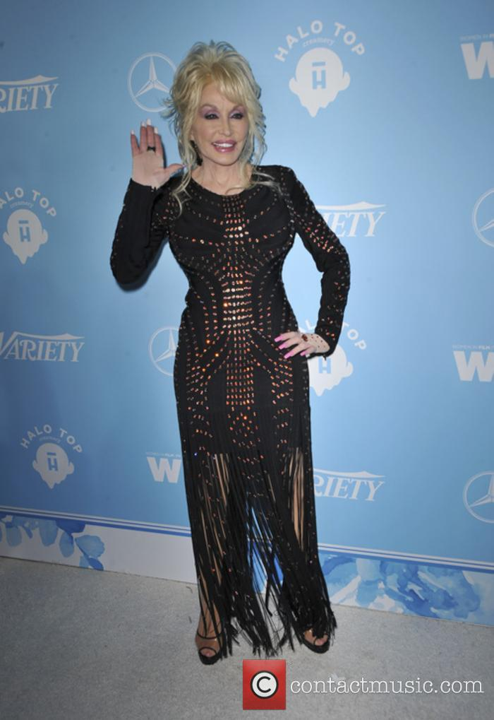 Dolly Parton at the Variety and Women in Film celebration