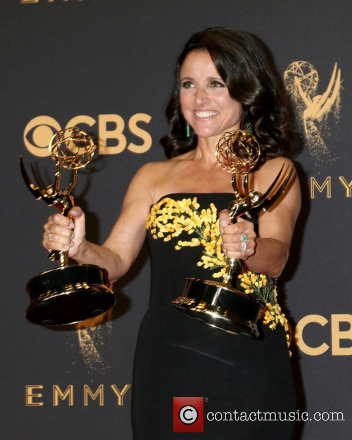 Julia Louis-Dreyfus at the 2017 Emmy Awards