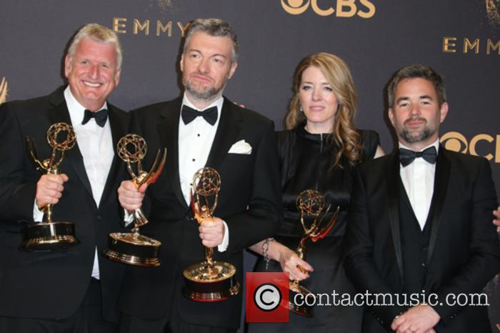The 'Black Mirror' team were celebrated at the 69th Emmy Awards