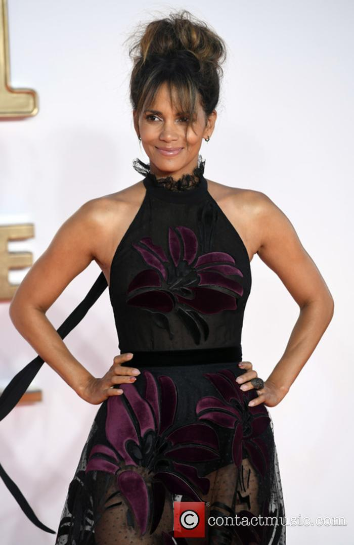 Halle Berry at 'Kingsman: The Golden Circle' premiere