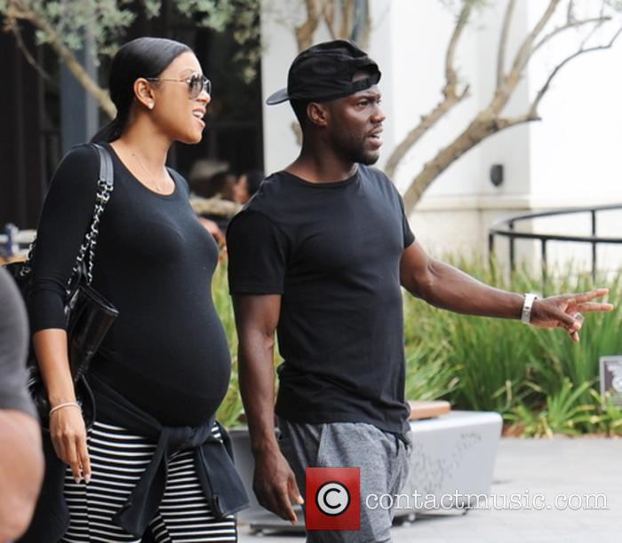 Kevin Hart snapped out and about with Eniko Parrish