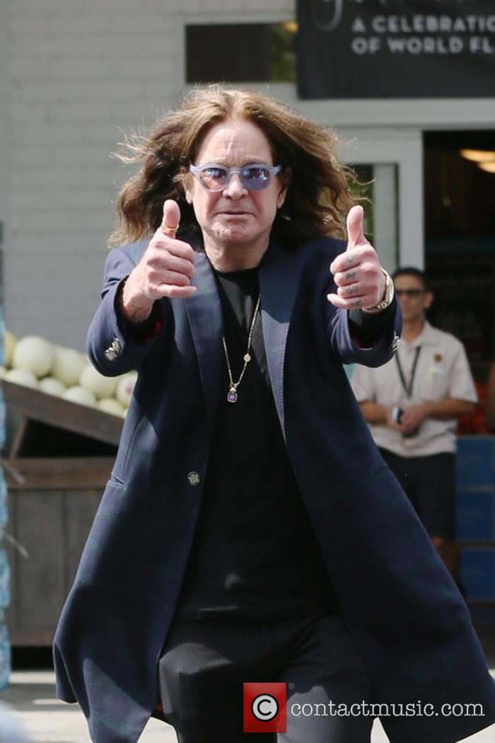 Ozzy Osbourne snapped leaving Bristol Farms