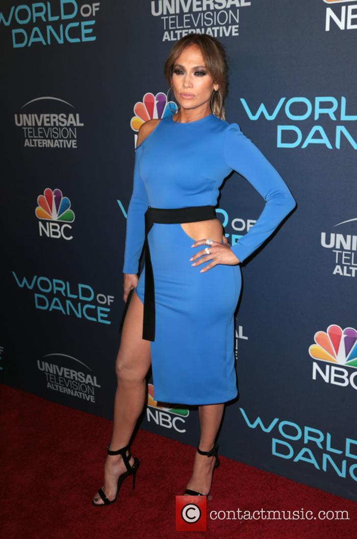 Jennifer Lopez at NBC's World Of Dance celebration