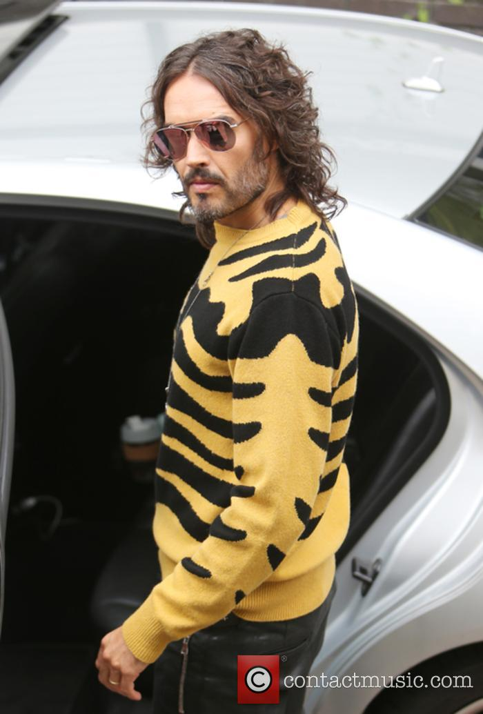 Russell Brand at the ITV Studios