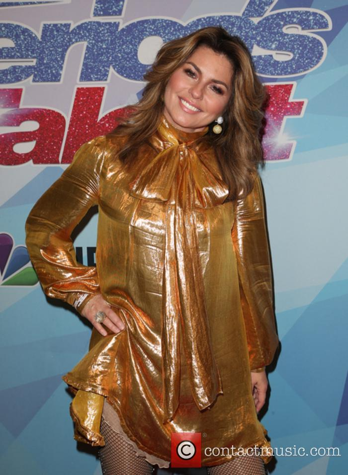 Shania Twain at 'America's Got Talent' season finale