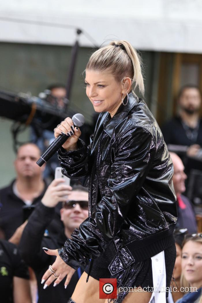 Fergie performs live on the 'Today' show