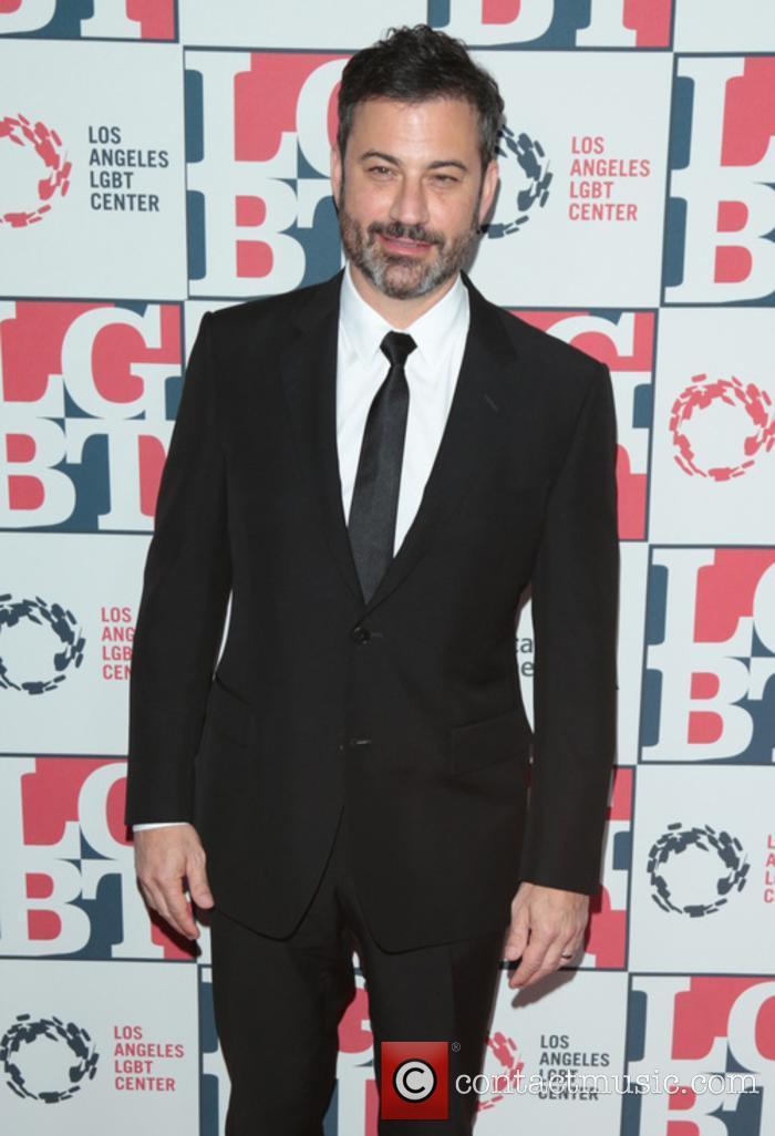 Jimmy Kimmel at the LGBT Gala Awards