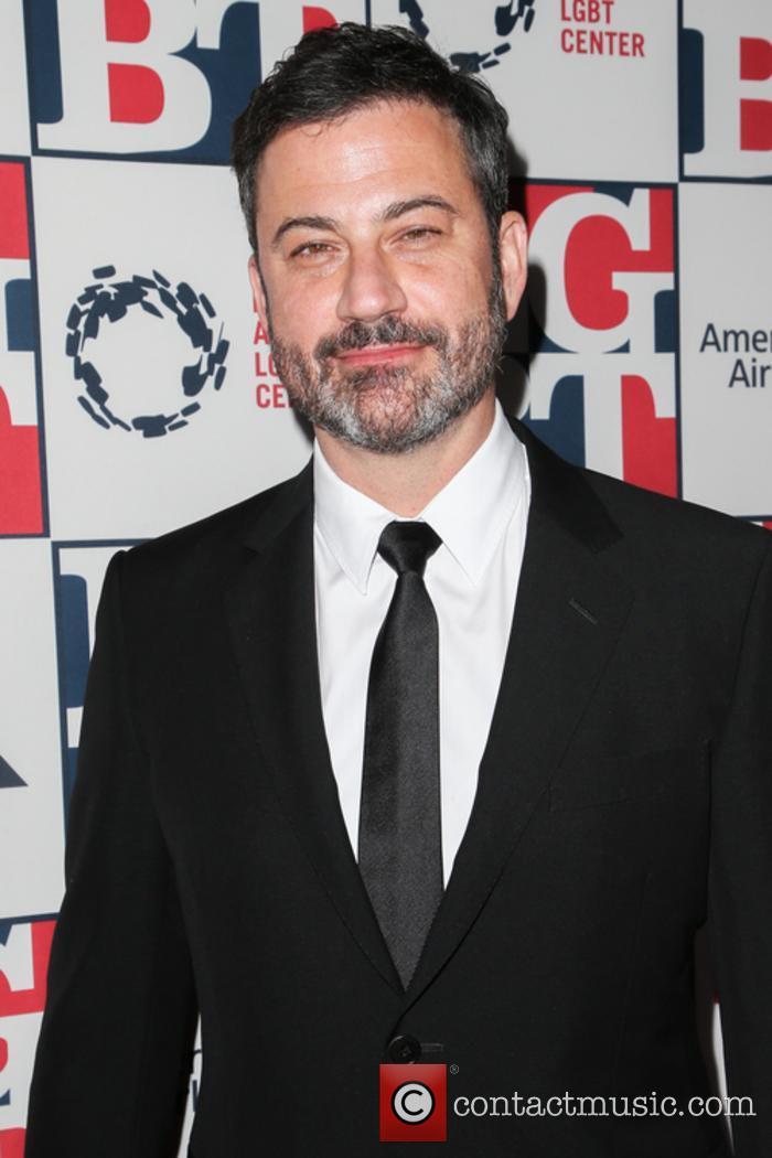 Jimmy Kimmel at the Los Angeles LGBT Gala Awards