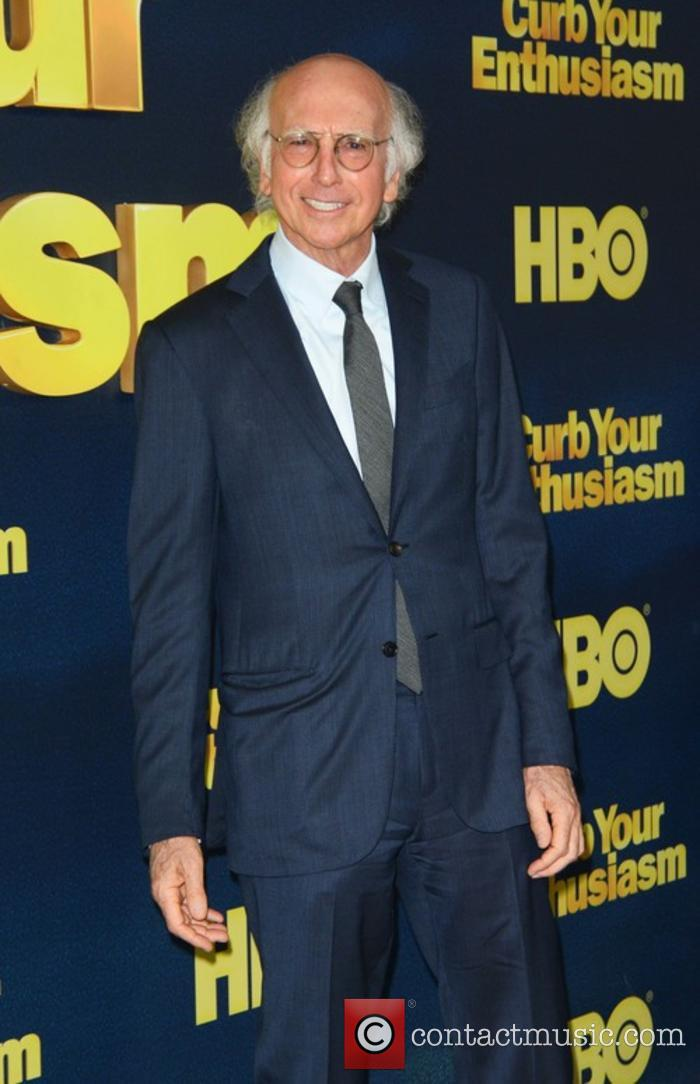 Larry David at 'Curb Your Enthusiasm' premiere
