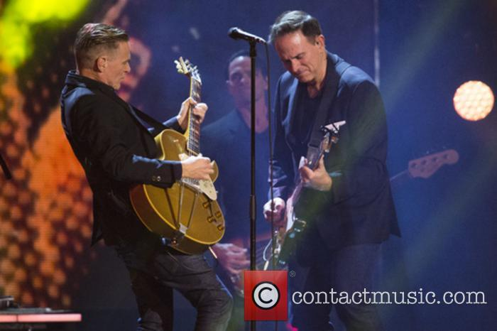Bryan Adams and Bruce Springsteen perform together at Invictus Games closing ceremony