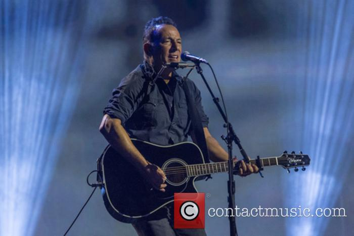 Bruce Springsteen at Invictus Games closing ceremony