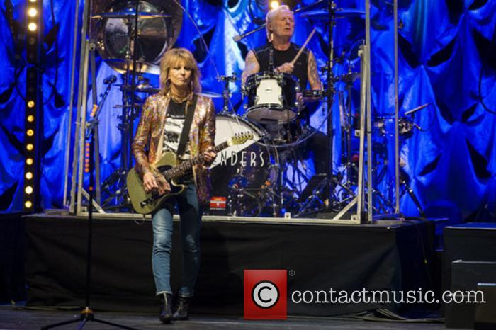 The Pretenders, Chrissie Hynde and Martin Chambers 3