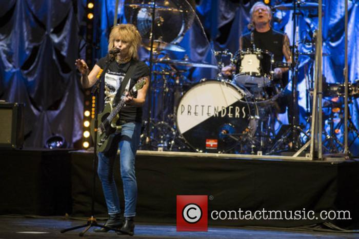 The Pretenders, Chrissie Hynde and Martin Chambers 9