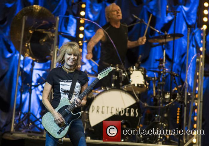 The Pretenders, Chrissie Hynde and Martin Chambers