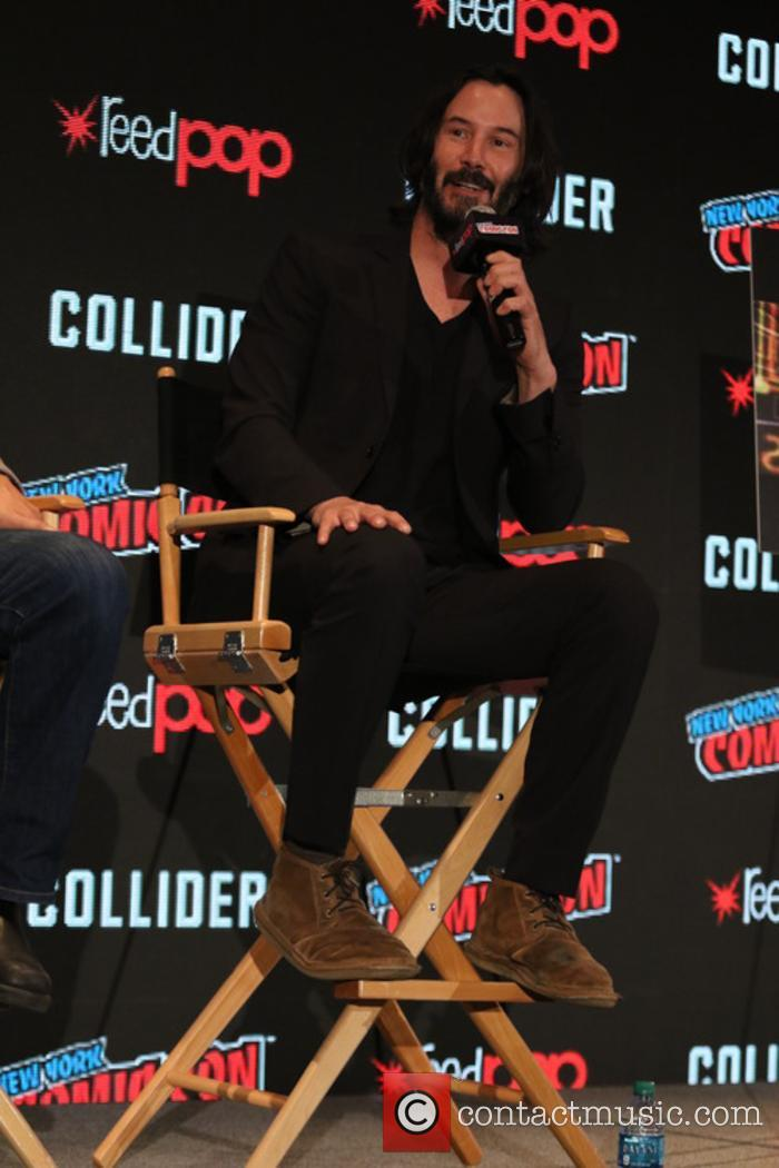 Keanu Reeves at New York Comic Con