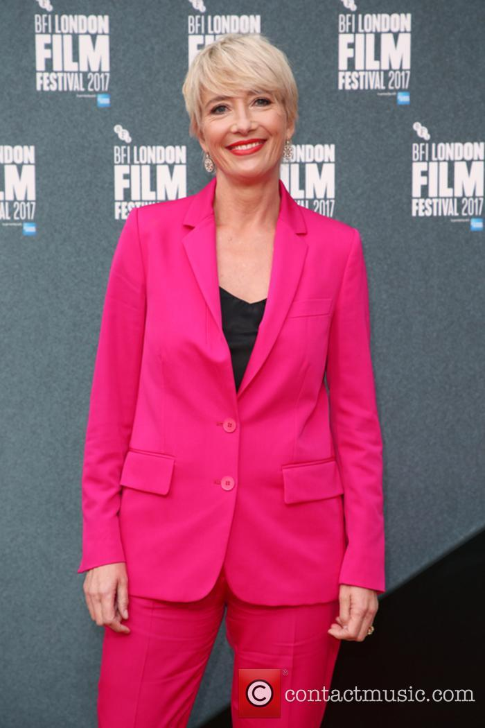 Emma Thompson at 'The Meyerowitz Stories' premiere