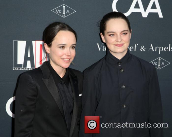 Ellen Page and Emma Portner at the LA Dance Projects Annual Gala