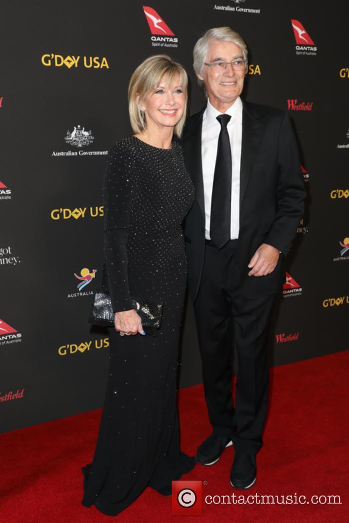 Olivia Newton-john and John Easterling 2