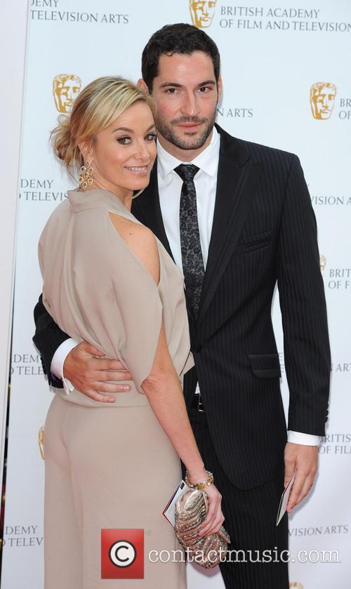 FILE PHOTO British acting couple Tamzin Outhwaite and...