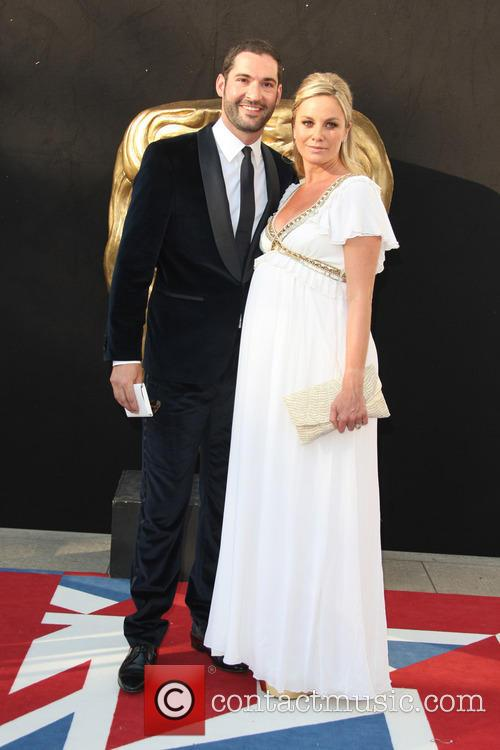 FILE PHOTO British acting couple Tamzin Outhwaite and...