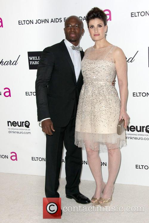 FILE PHOTO*** TAYE DIGGS AND IDINA MENZEL SPLIT...