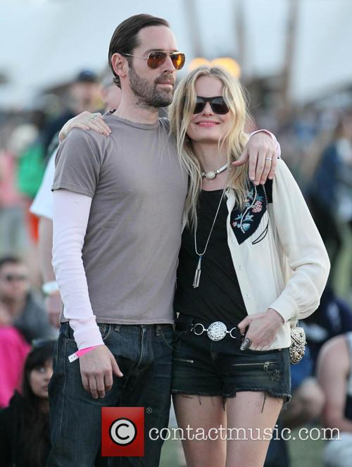 Kate Bosworth and boyfriend Michael Polish Celebrities at...