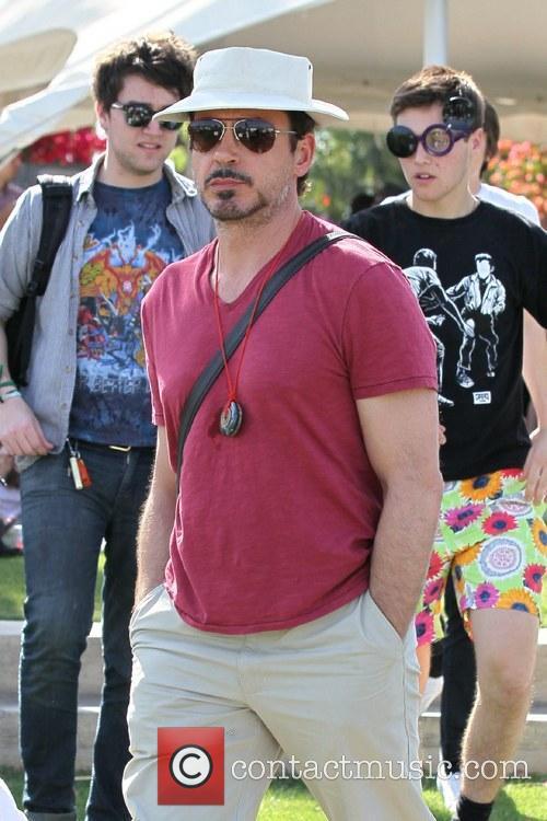 Robert Downey Jr. Celebrities at the 2011 Coachella...