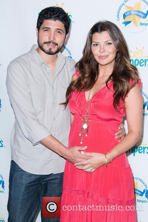 Ali Landry and Alejandro Monteverde The Pampers 50th...