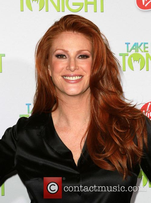 File Photos Model-turned-actress Angie Everhart is battling cancer....