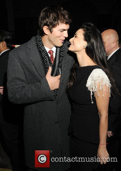 File Photo** * ASHTON KUTCHER AND DEMI MOORE...