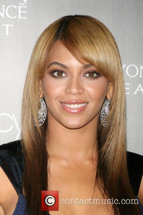 Beyonce Knowles launches her new fragrance 'Beyonce Heat'...