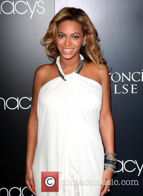Beyonce Knowles promotes her new fragrance 'Pulse' at...