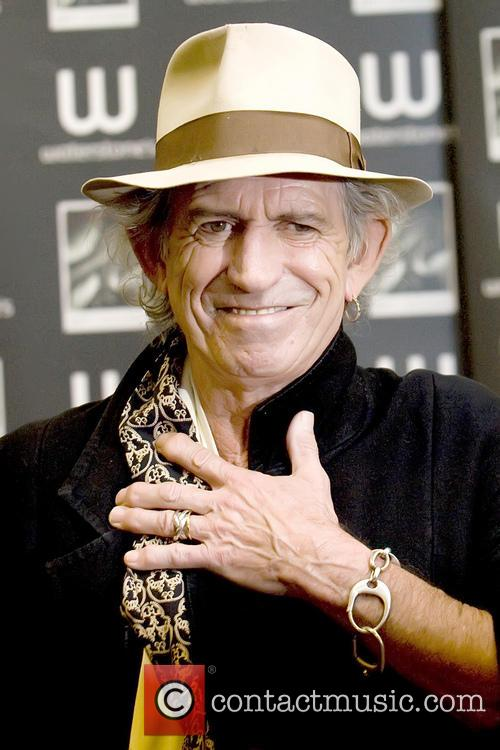File Photo**  Rolling Stones guitarist Keith Richards...