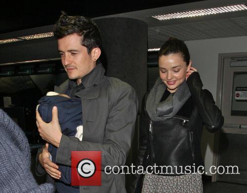 File Photo * ORLANDO BLOOM AND MIRANDA KERR...