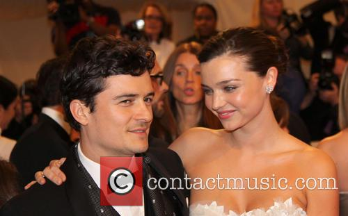 File Photo * ORLANDO BLOOM AND MIRANDA KERR...