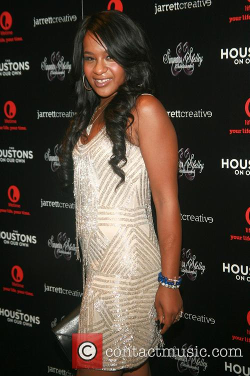 ***File Photo* Whitney Houston's daughter Bobbi Kristina Brown...