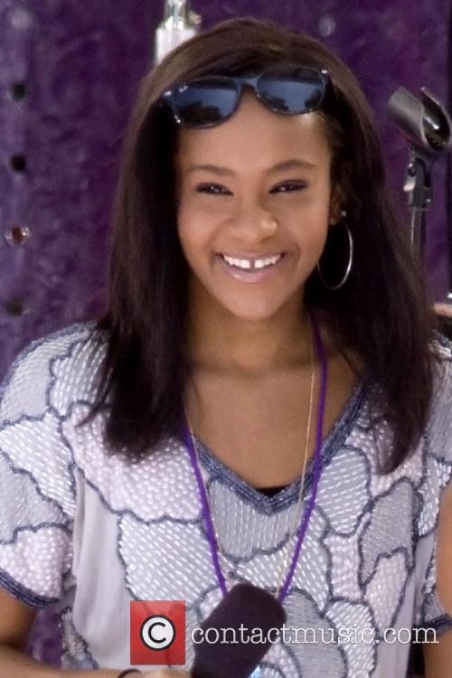 ***File Photo* Whitney Houston's daughter Bobbi Kristina Brown...