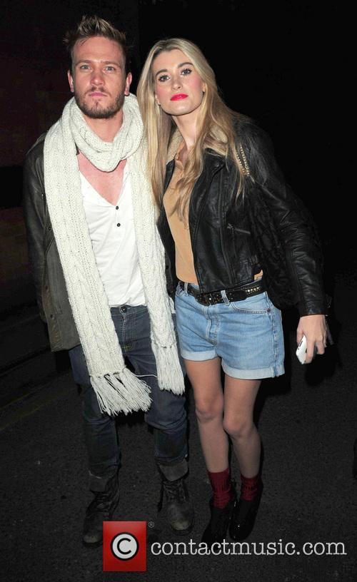 File Photo Emmerdale stars Charley Webb and Matthew...