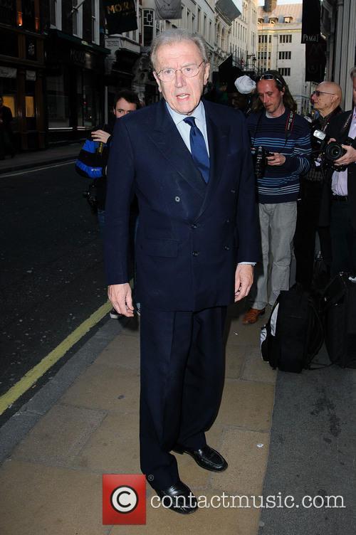 File Photos*** Veteran broadcaster Sir David Frost has...