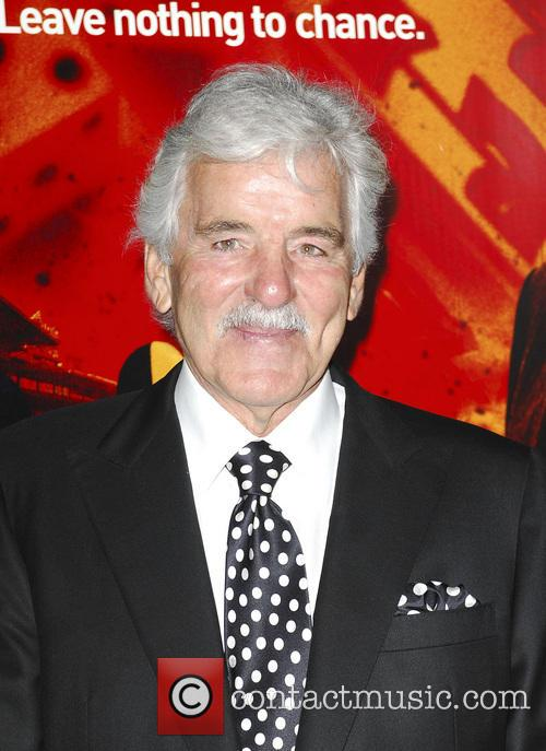Dennis Farina and Grauman's Chinese Theatre