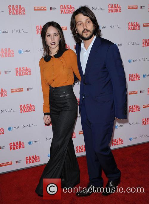 File Photos Mexican actor Diego Luna has split...