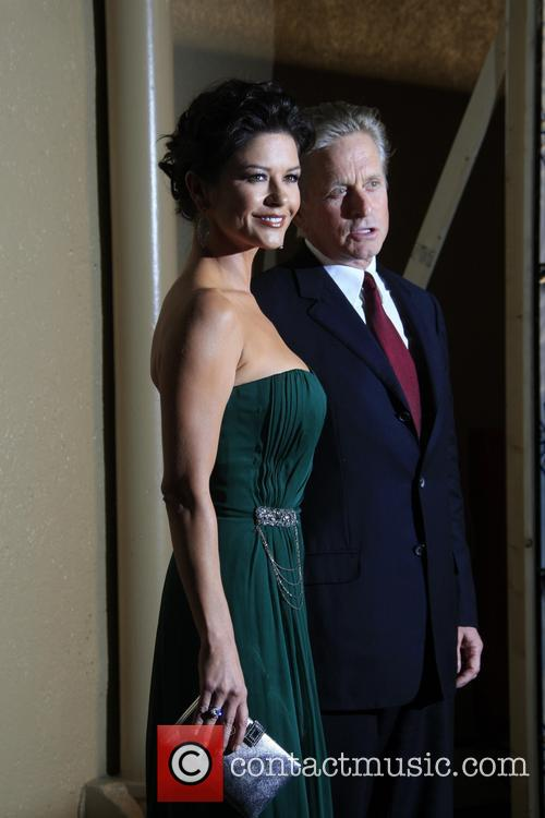 File Photo * MICHAEL DOUGLAS AND CATHERINE ZETA-JONES...
